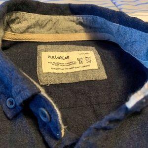 Pull&Bear Shirts - Pull & Bear Cloth Button Down Shirt.
